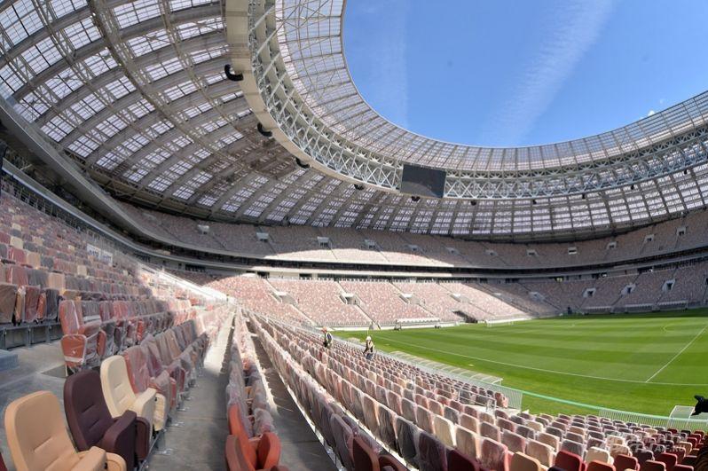 Вместимость стадиона увеличили до 81 тысячи зрителей.