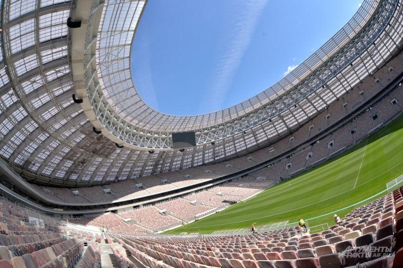 Комплексная реконструкция спортивного объекта началась в первом квартале 2014 года в рамках подготовки к чемпионату мира по футболу.