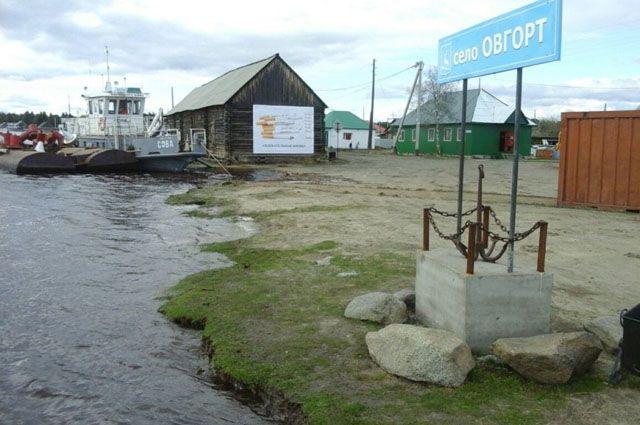 В Овгорте оцепили подтопленные участки села.
