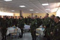 Воинская часть в Курганской области, в которой несут службу ямальские призывники.