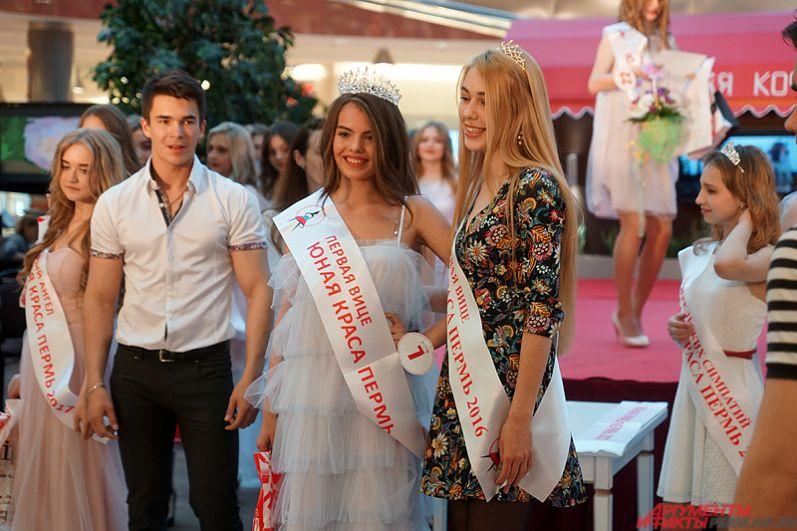 Звание «Вице-мисс Юная краса Перми» завоевала Каролина Мамедова.