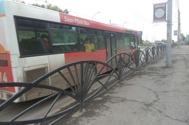 Автобус изменит схему движения на одну неделю