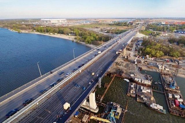 Руководство Ростовской области: Ворошиловский мост готов на90 процентов