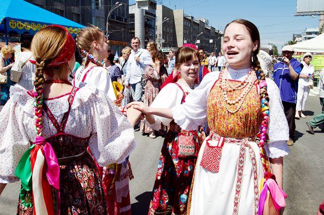 В Кузбассе 12 июня пройдет парад дружбы народов.