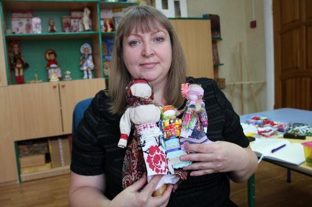 Наталья уверена, что делать игрушки нужно с любовью.