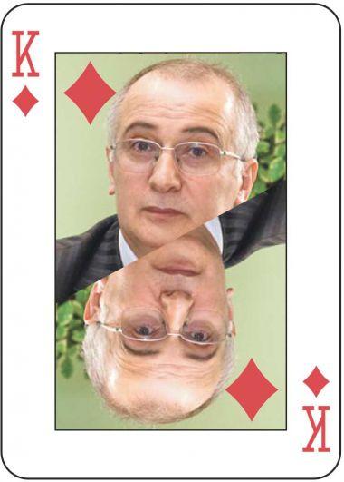 Король – экс-вице-премьер правительства и экс-сенатор от Карелии Девлет Алиханов (подозревается в мошенничестве с муниципальным имуществом)
