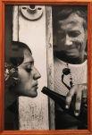 Автопортет поэта с колумбийской фотомоделью Дорой Франко