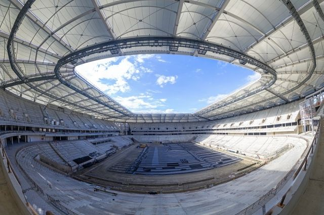 Стадион «Ростов-Арена» готов на80%