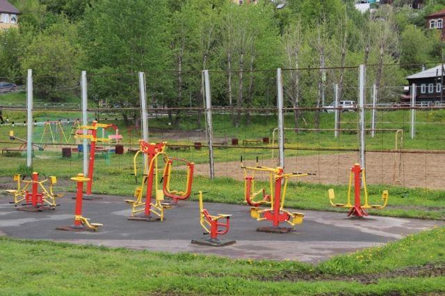 Здесь можно подкачать мышцы на тренажёрах, позаниматься спортом, поиграть на детских площадках с малышами.