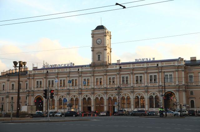 Московский вокзал вПетербурге эвакуировали из-за бесхозного предмета