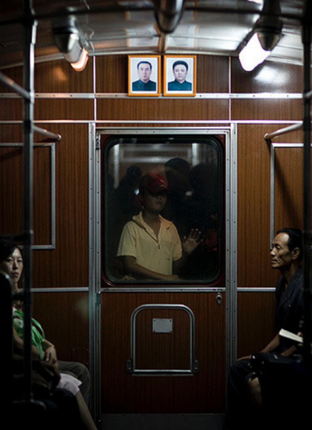 Эрик Лаффорг (Франция). Метро Пхеньяна. Северная Корея. 2014