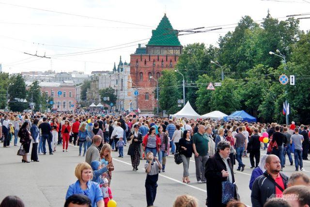 День города в Нижнем Новгороде отметят 12 июня