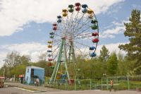 В парке можно найти развлечение на любой вкус, а не только покататься на аттракционах.