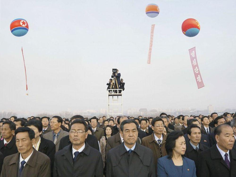 Филипп Шансель (Франция). Мансуде Хилл. Празднование 100-летия со дня рождения Ким Ир Сена. 15 апреля, 2012