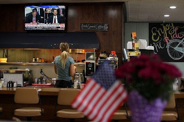 Практически  20 млн американцев наблюдали завыступлением Коми перед сенатом США