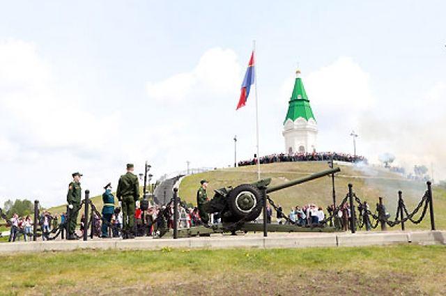 В Красноярске начались празднования в честь Дня города.