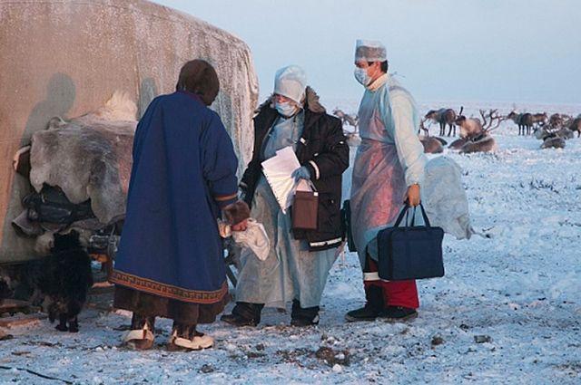 В Тарко-Сале кочевникам рассказывают, как не болеть.