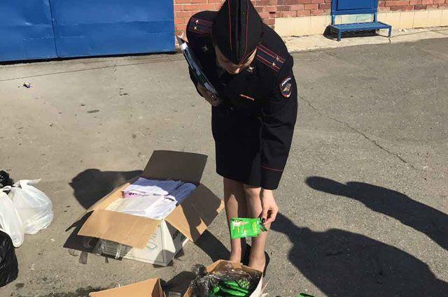 Полицейские Нового Уренгоя сожгли более 3 кг наркотиков.