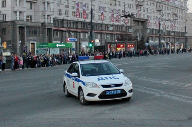 Движение транспорта вцентре Челябинска ограничат вДень РФ