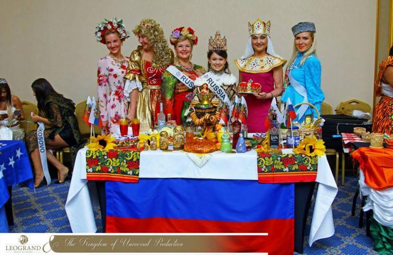 В международном проекте принимали участие представительницы многих стран мира.