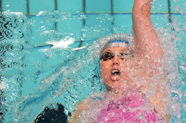 Анастасия Фесикова на своей коронной дистанции.