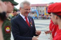 Кадетов поздравил губернатор.