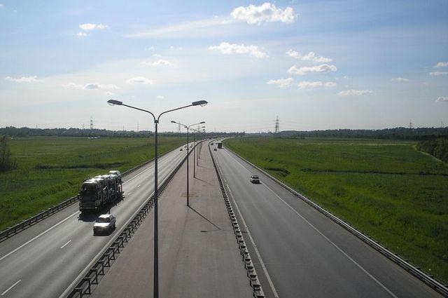 Съезд сКАД на столичное шоссе перекроют надва дня