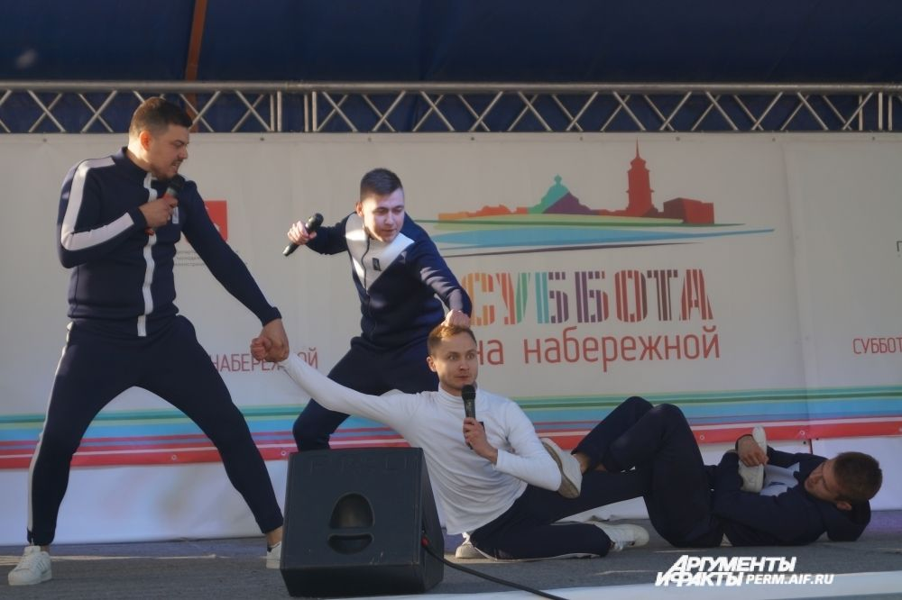 """Мастера шуток - команда КВН """"Сборная бывших спортсменов""""."""