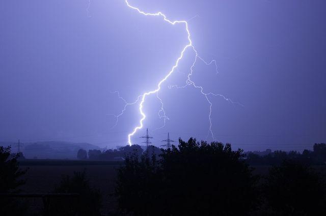 Дождь сгрозой ипорывистый ветер ожидаются в столице вближайшие часы
