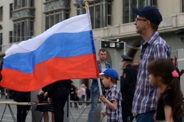 Неменее 7 млн россиян отпраздновали День Российской Федерации