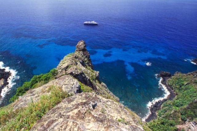 Остров Питкэрн, южная часть Тихого океана