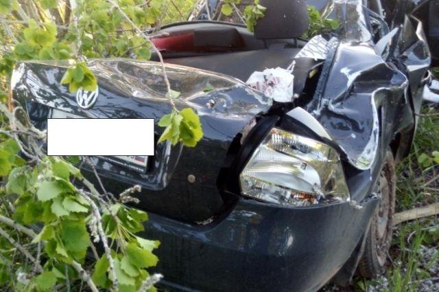 Водитель погиб, его пассажир в больнице с многочисленными травмами
