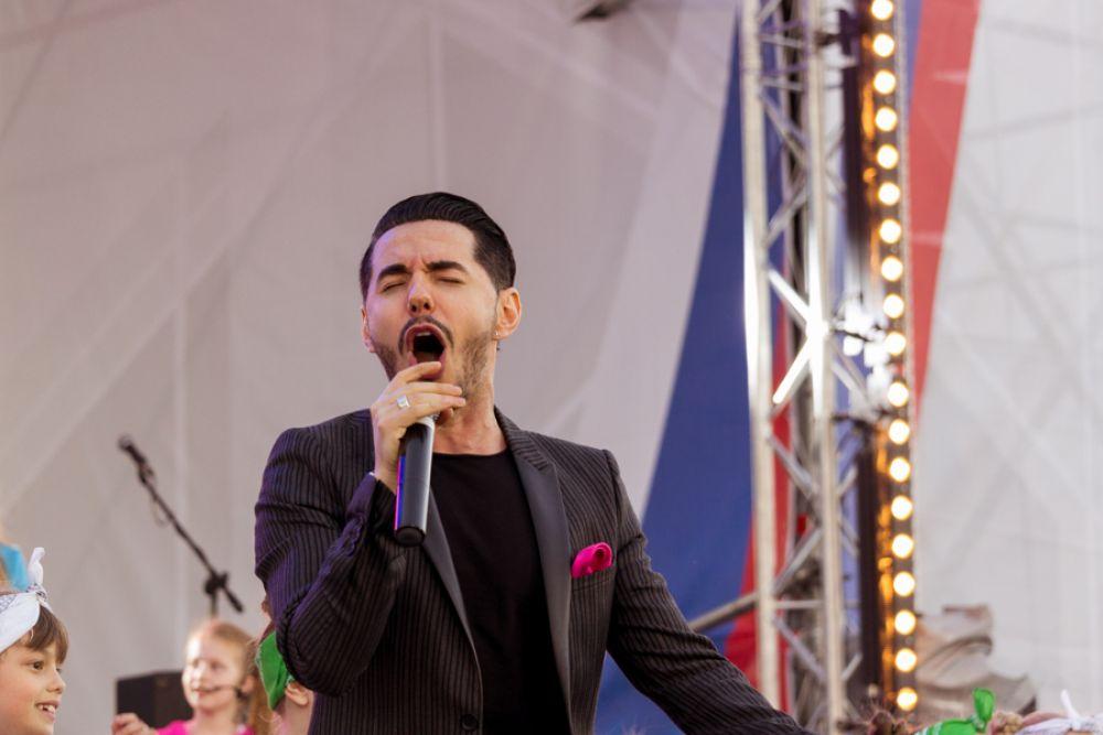 Ведущим мероприятия стал Тимур Родригез.