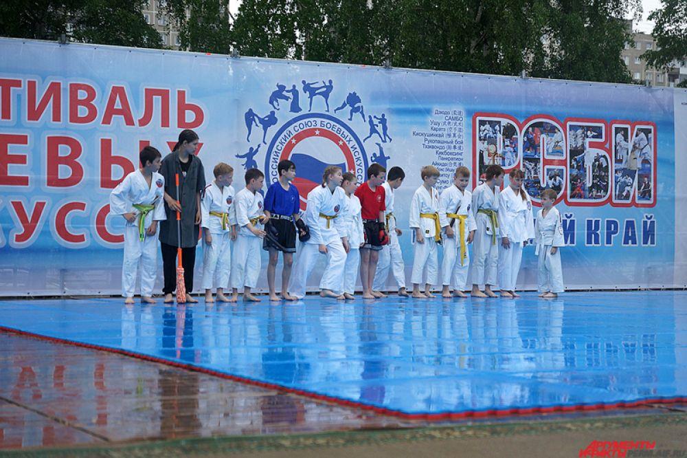 Фестиваль боевых искусств Пермского края. Зрители увидели более 25 показательных номеров.