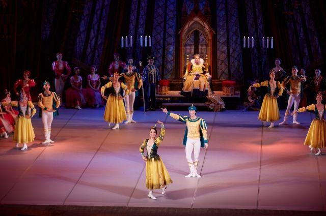 В Иркутск приехал Бурятский театр оперы и балета.