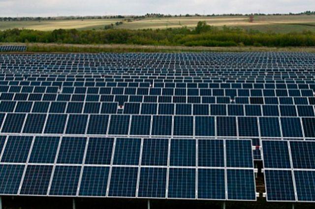 Орская солнечная электростанция.