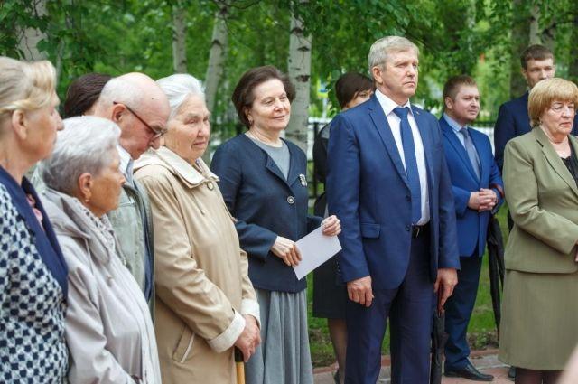 Наталья Комарова поздравила всех присутствующих с Днем России