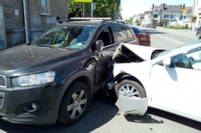 ДТП произошло в Первомайском районе.