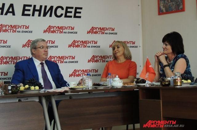 Красноярский губератор Виктор Толоконский родом из Новосибирска.