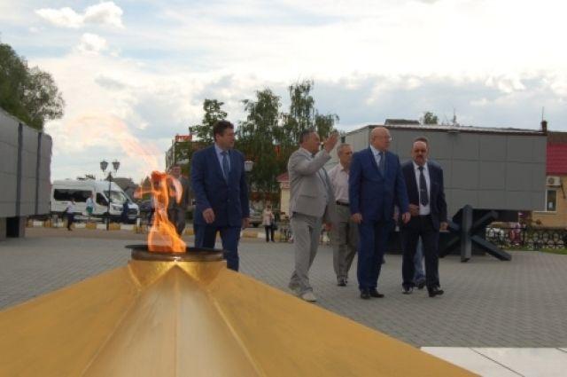 Мемориал воинам-вадчанам, погибшим в годы Великой Отечественной войны