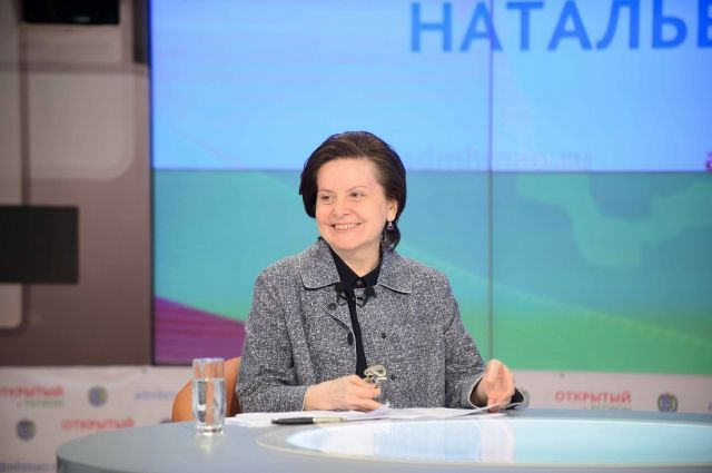 Наталья Комарова с ходу могла дать оценку и предпринять опре- деленные меры реагирования. Фото Вадима ШТЕЙНА