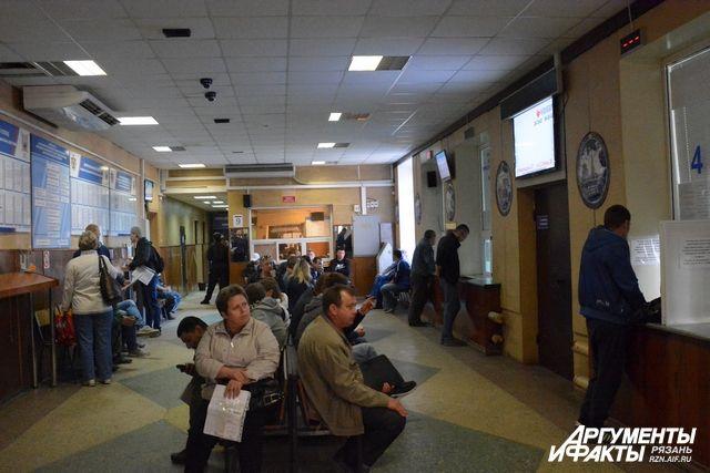 Прием граждан в РЭО ГИБДД в Оренбурге восстановлен