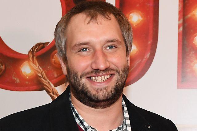 Актёр и режиссёр Юрий Быков.