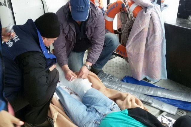 Камчатские cотрудники экстренных служб  обеспечили эвакуацию моряка ссудна— Срочно вномер