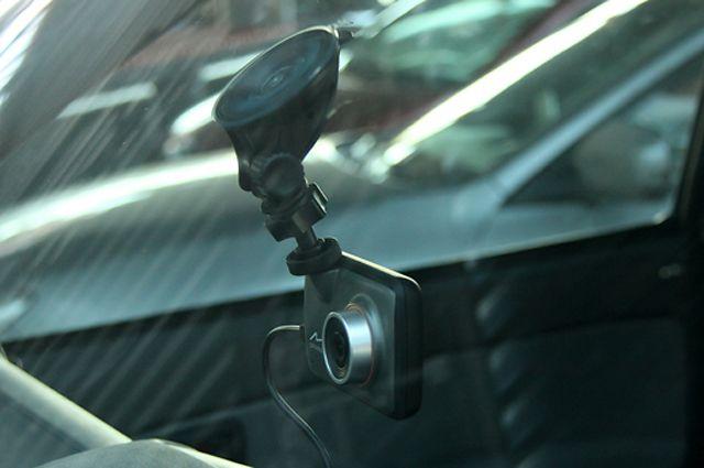 По записи видеорегистратора видно, как произошла авария в Черемховском районе.