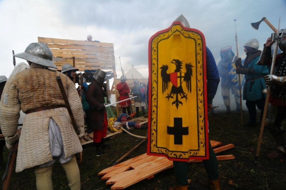 Средневековое сражение под Новосибирском