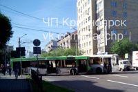 Автобусы 5 и 52 не поделили дорогу.