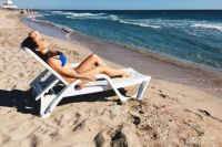 Некоторые новосибирцы уже открыли пляжный сезон