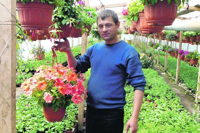 Успешный цветочный бизнес организовала семья Спельчук, переехавшая в Курск из Молдавии.
