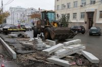В краевой столице начался сезон дорожного ремонта.